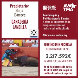 Ganadería Jandilla Borja Domecq