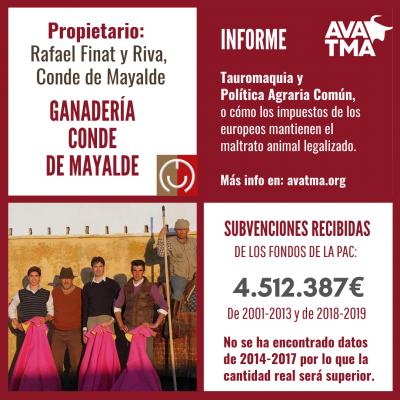 Ganadería Conde de Mayalde