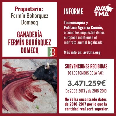 Ganadería Fermín Bohórquez Domecq