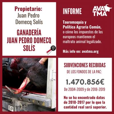 Ganadería Juan Pedro Domecq Solís